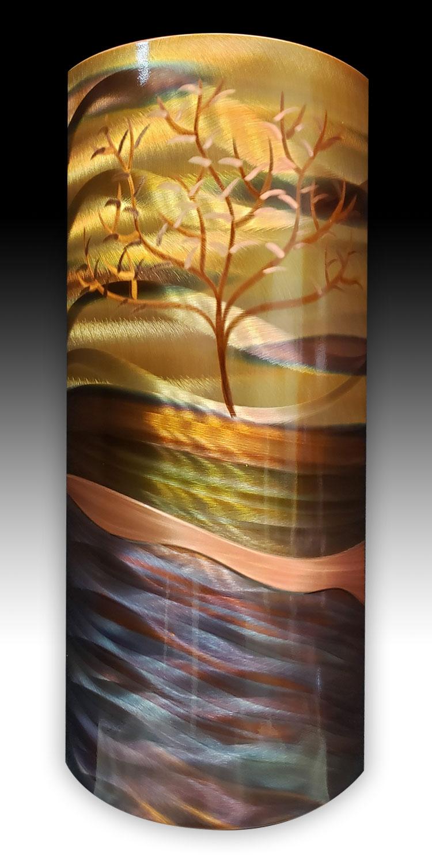 8 x 17 Windswept Tree
