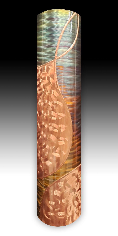 8 x 35 Copper Swirls