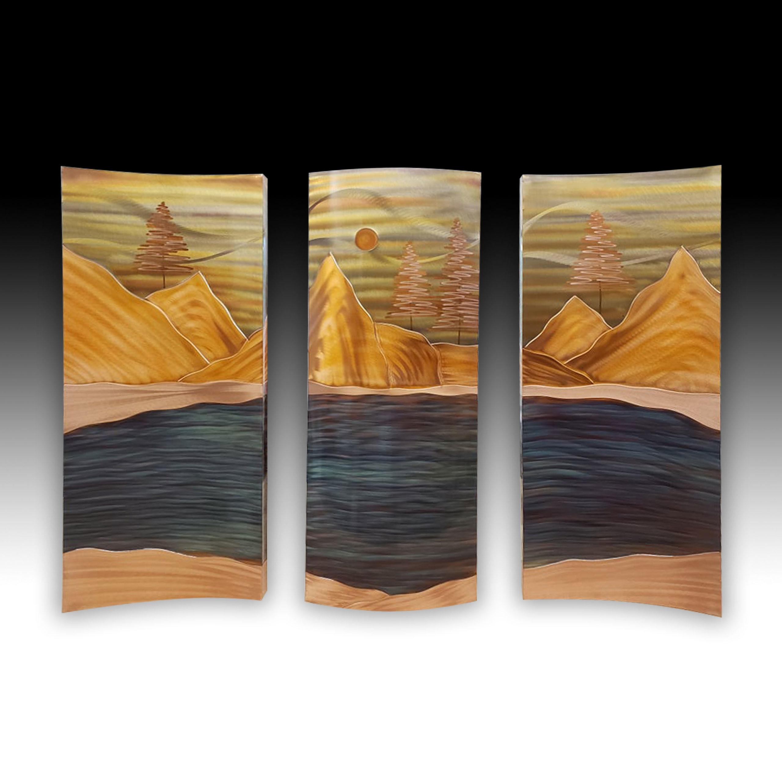 35 x 50 Mountain Lake